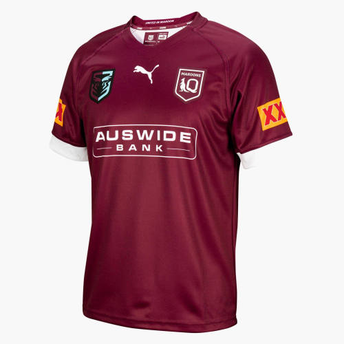 QLD Maroons State of Origin 2021 Mens Home Rugby Jersey