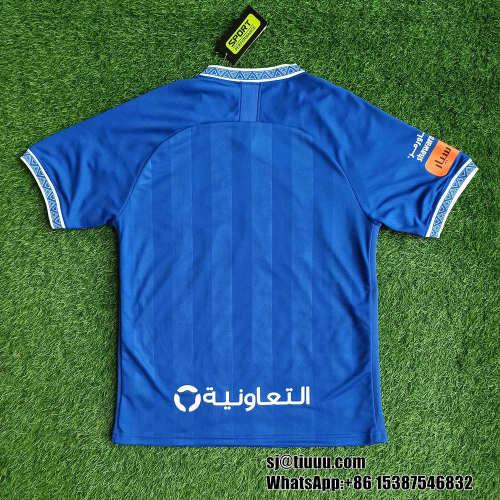 Thai Version Al-Hilal Saudi FC 21/22 Home Soccer Jersey