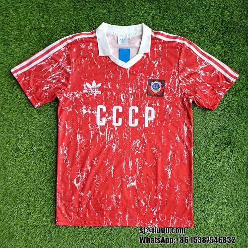 CCCP Soviet Union 1989-91 Home Retro Jersey
