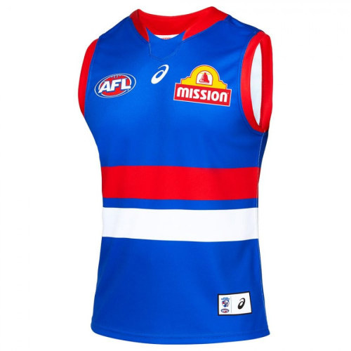Western Bulldogs 2021 Mens Home Rugby Guernsey