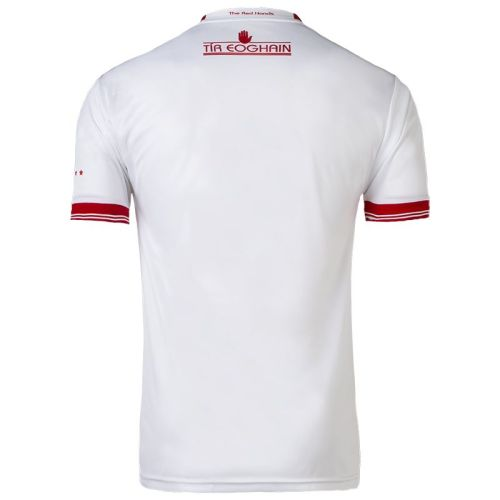 Tyrone GAA Mens Home 2-Stripe Jersey White