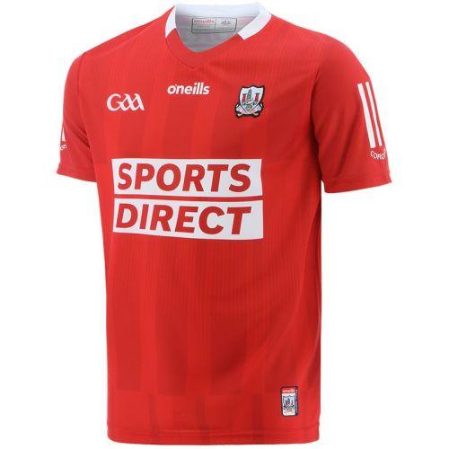 Cork GAA 2021/22 Mens 2-Stripe Home Jersey
