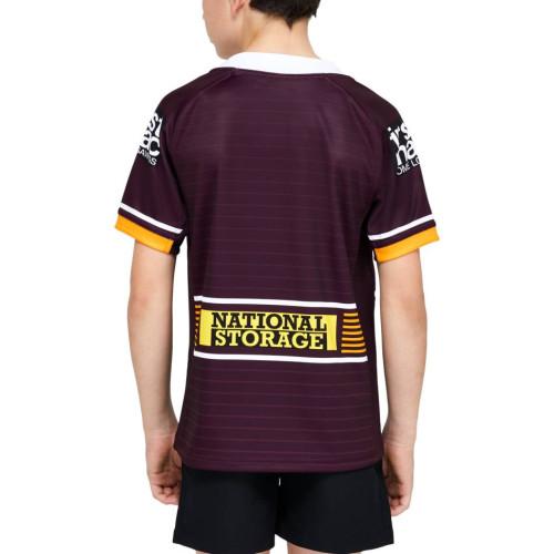 Kids Brisbane Broncos 2021 Home Rugby Kit