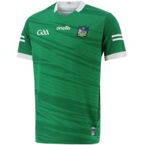 Limerick GAA 2021/22 Mens 2-Stripe Home Jersey Green