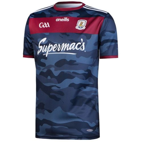 Galway GAA Mens Away 2-Stripe Jersey Navy