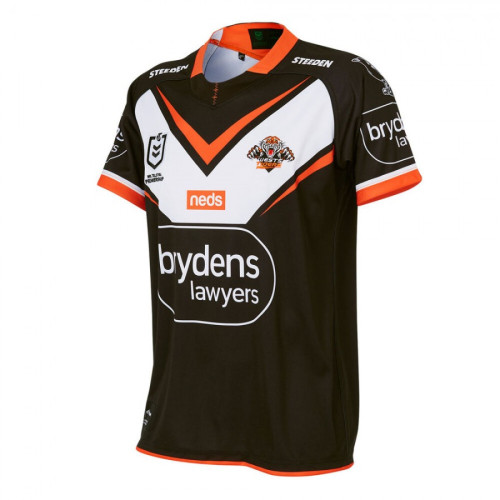 Kids Wests Tigers 2021 Home Rugby Kit