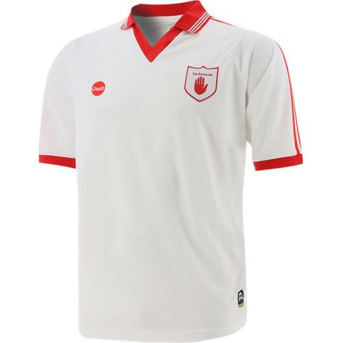 Tyrone GAA Mens Retro Jersey White
