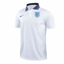 England 2021 Pre-Match Polo Shirt White