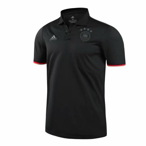 Germany 2021 Pre-Match Polo Shirt Black