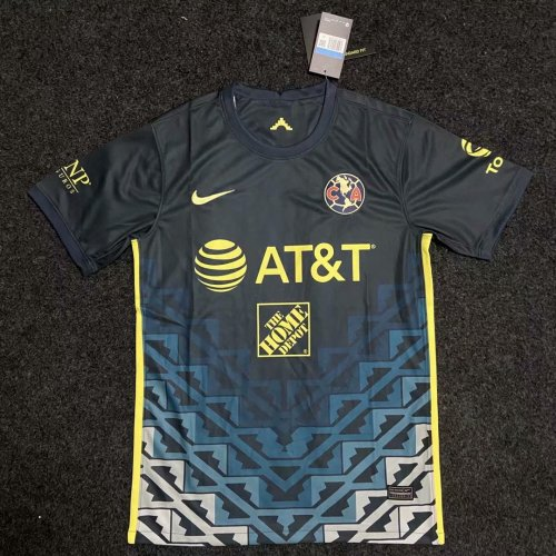 Thai Version Club America 21/22 Away Soccer Jersey