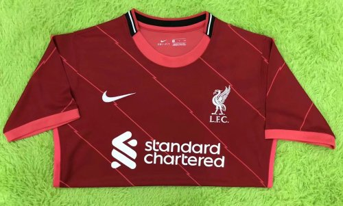 Thai Version Liverpool 21/22 Home Jersey - Leaked Edition