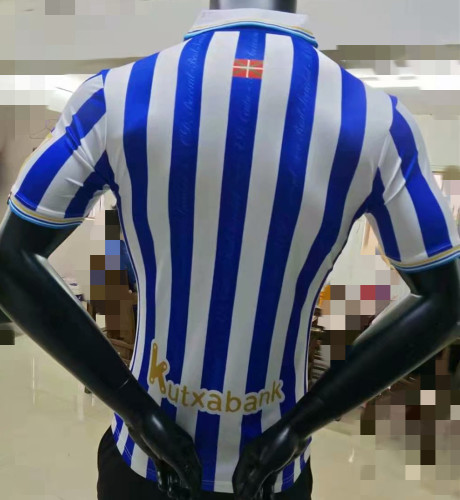 Player Version Real Sociedad 21/22 Home Authentic Jersey