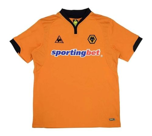 Wolverhampton 2009-2010 Home Retro Jersey #20 Milijas