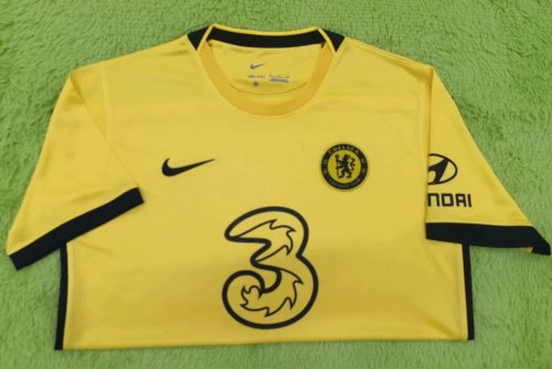 Thai Version Chelsea 21/22 Away Soccer Jersey - Leaked Edition