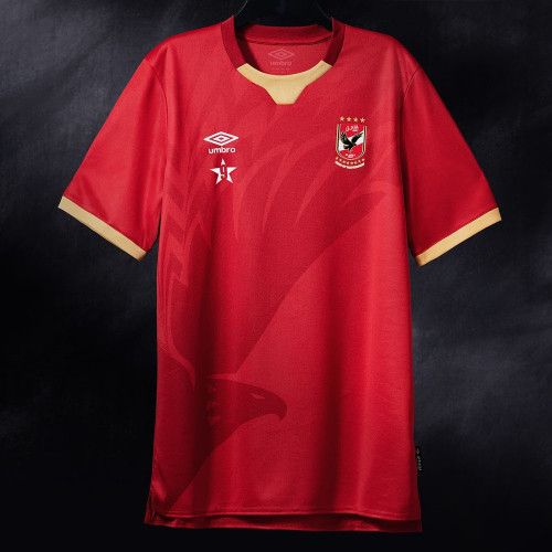 Thai Version Al Ahly 20/21 Home Soccer Jersey