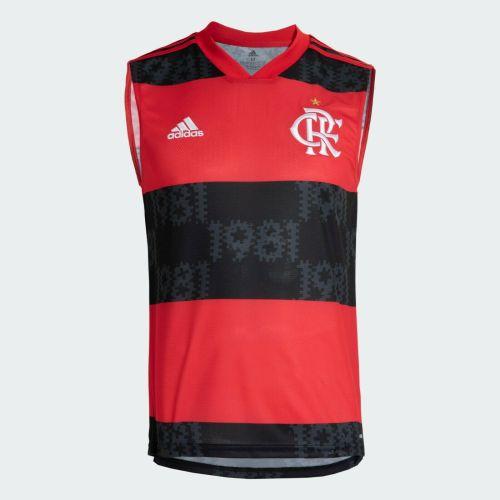 Thai Version Flamengo 2021 Home Training Singlet