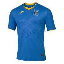 Thai Version Ukraine 2020 Away Soccer Jersey