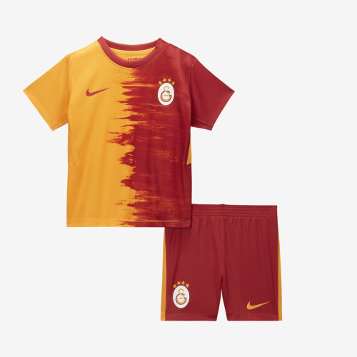 Kids Galatasaray 20/21 Home Soccer Jersey and Short Kit