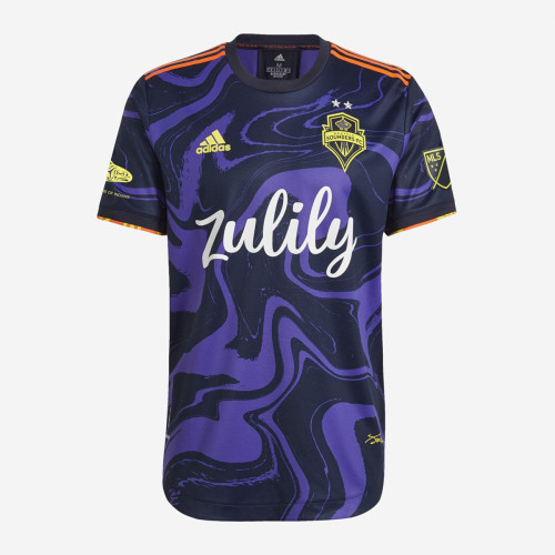 Player Version Seattle Sounders FC 2021 Away Jersey