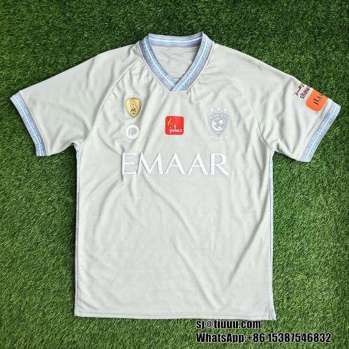 Thai Version Al-Hilal Saudi FC 21/22 Gray Match Jersey