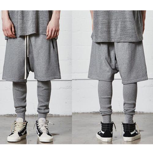 Streetwear Brand Shorts Gray 2021.4.17