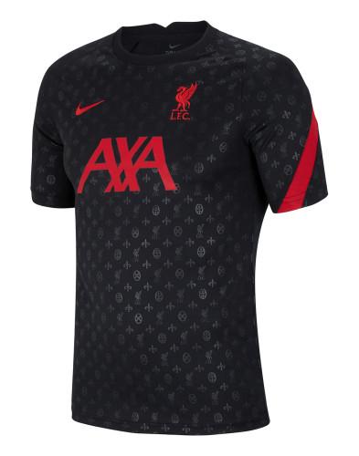 Thai Version Liverpool 21/22 Black Pre-Match Jersey