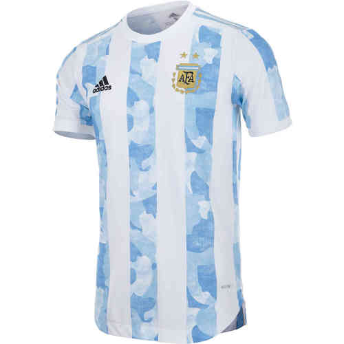 Player Version Argentina 2021 Home Authentic Jersey