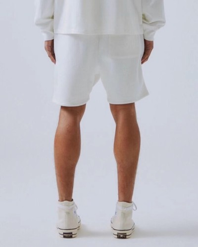 Streetwear Brand Shorts White 2021.4.17