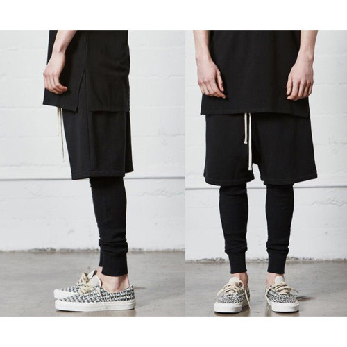 Streetwear Brand Shorts Black 2021.4.17