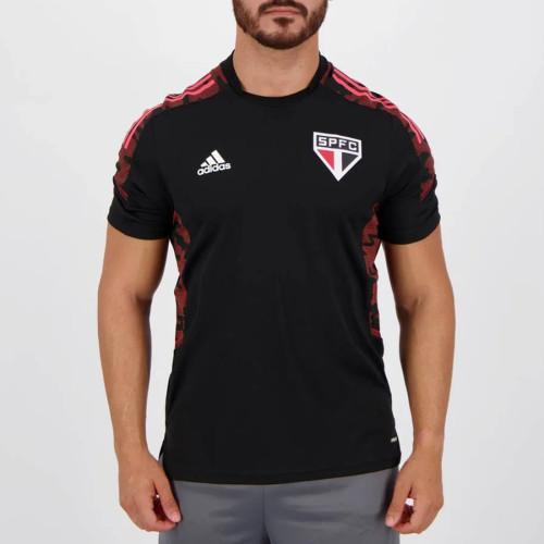 Thai Version Sao Paulo 2021 Black Training Jersey