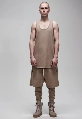 Streetwear Brand Shorts Brown 2021.4.17