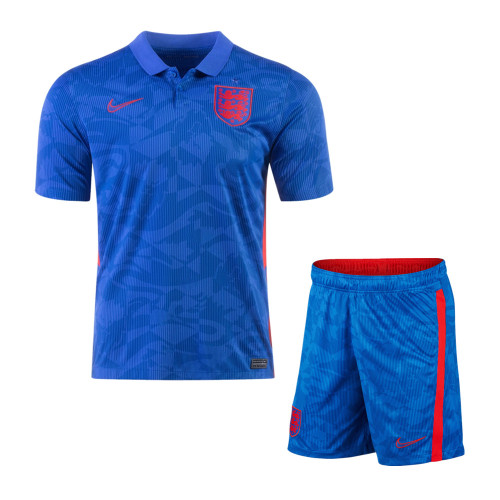 England 2021 Away Soccer Jersey and Short Kit