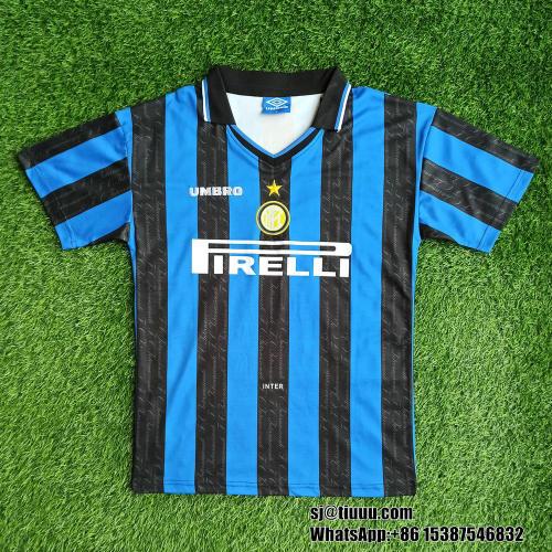 Inter Milan 1997/1998 Home Retro Jersey