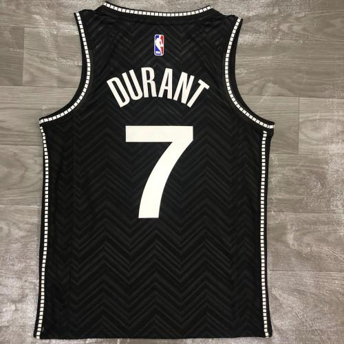 Thai Version Men's Kevin Durant Black 2020-21 Swingman Player Jersey – Earned Edition