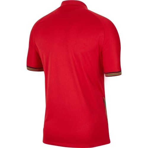 Thai Version Portugal 2021 Home Soccer Jersey