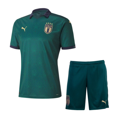 Italy 2021 Third Soccer Jersey and Short Kit