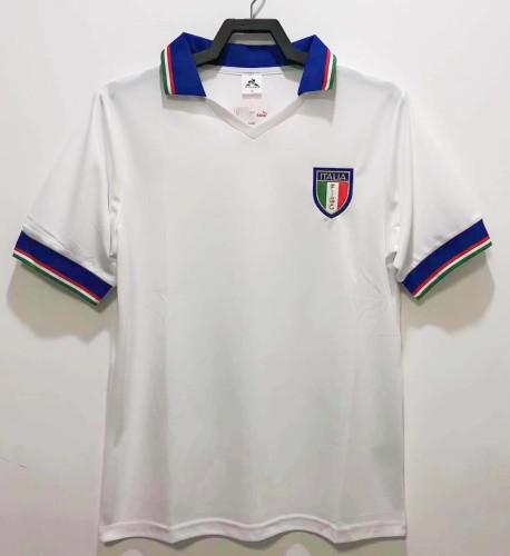 Italy 1982 Away Retro Soccer Jersey Tardelli #14