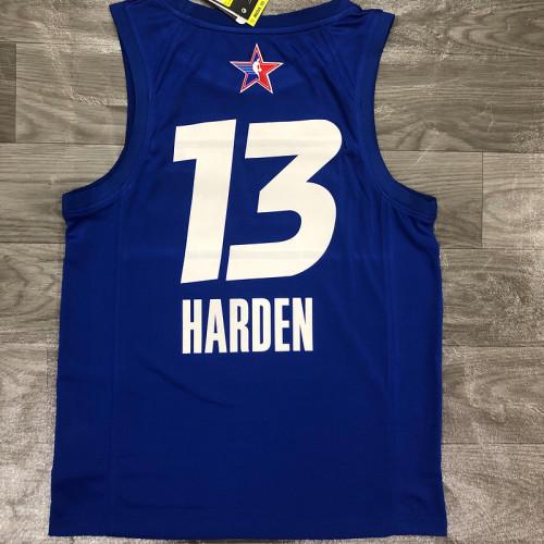 Thai Version Men's James Harden All-Star 2021 Blue Swingman Player Jersey