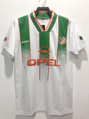 Ireland 1994 Away Retro Soccer Jersey (Sponsor)
