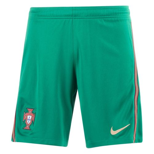Thai Version Portugal 2021 Home Soccer Shorts