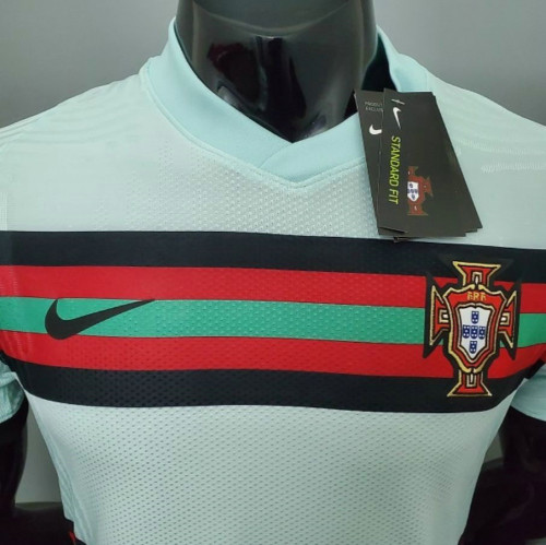 Player Version Portugal 2021 Away Authentic Jersey