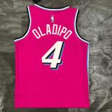 Thai Version Victor Oladipo Men's Pink Player Jersey - Retro Classic Edition