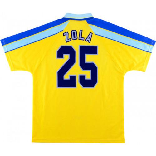 Chelsea 1996/1997 Away Retro Jersey #25 Zola