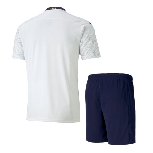 Italy 2021 Away Soccer Jersey and Short Kit