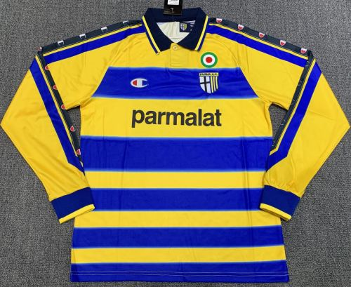 Parma Calcio 1999/2000 Home Retro L/S Jersey