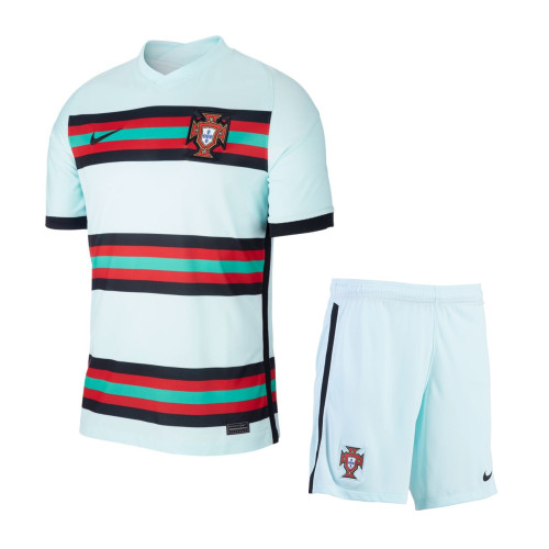 Portugal 2021 Away Soccer Jersey and Short Kit