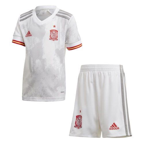 Spain 2021 Away Soccer Jersey and Short Kit