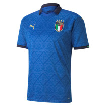 Thai Version Italy 2021 Home Soccer Jersey