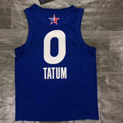 Thai Version Men's Jayson Tatum All-Star 2021 Blue Swingman Player Jersey