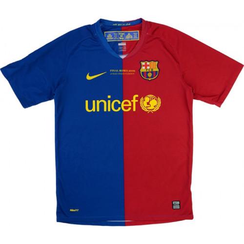 Barcelona 2008/2009 Home Retro Jersey #6 Xavi